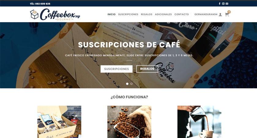 suscripciones de café coffeebox.uy