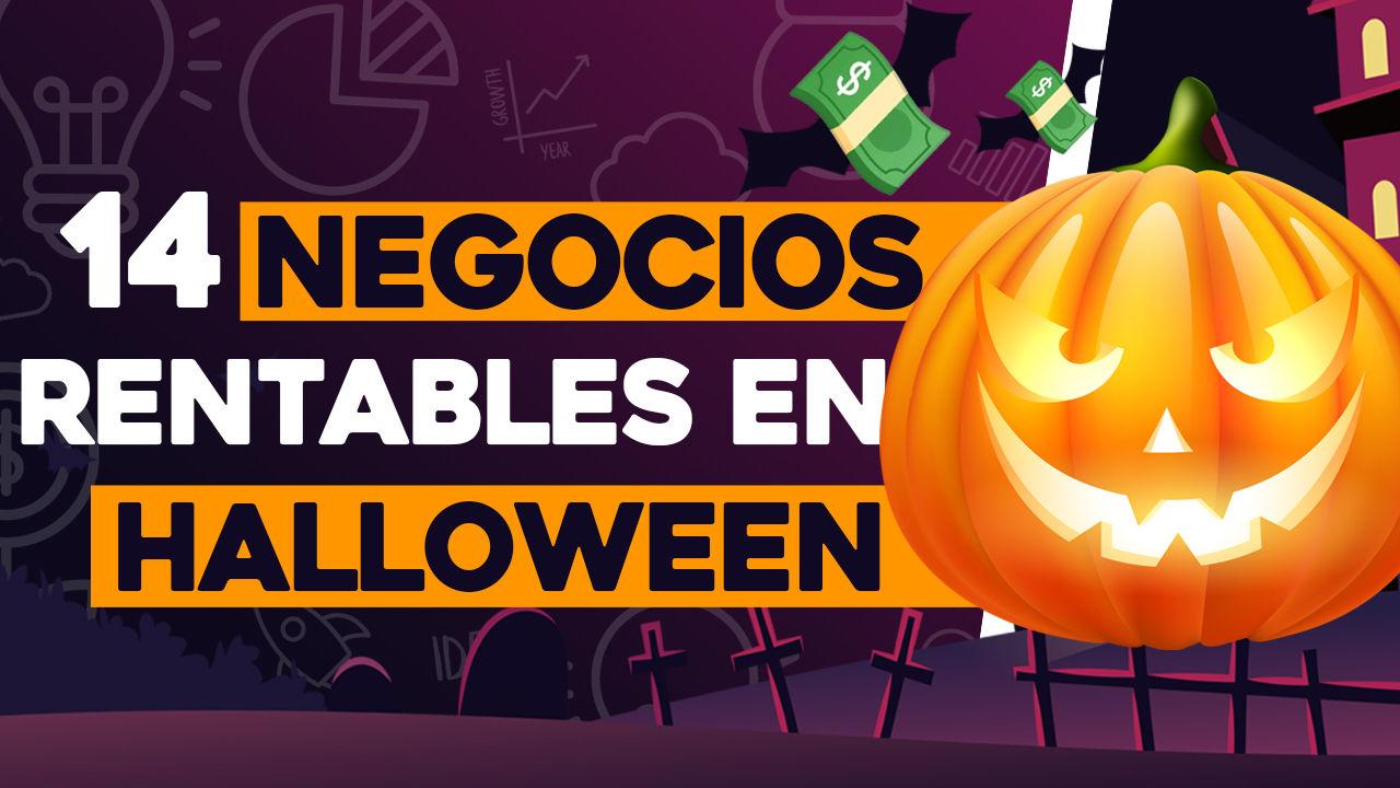 negocios rentables en halloween