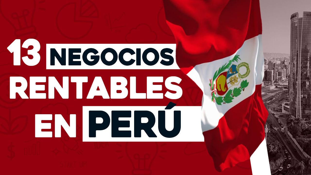 negocios rentables en perú