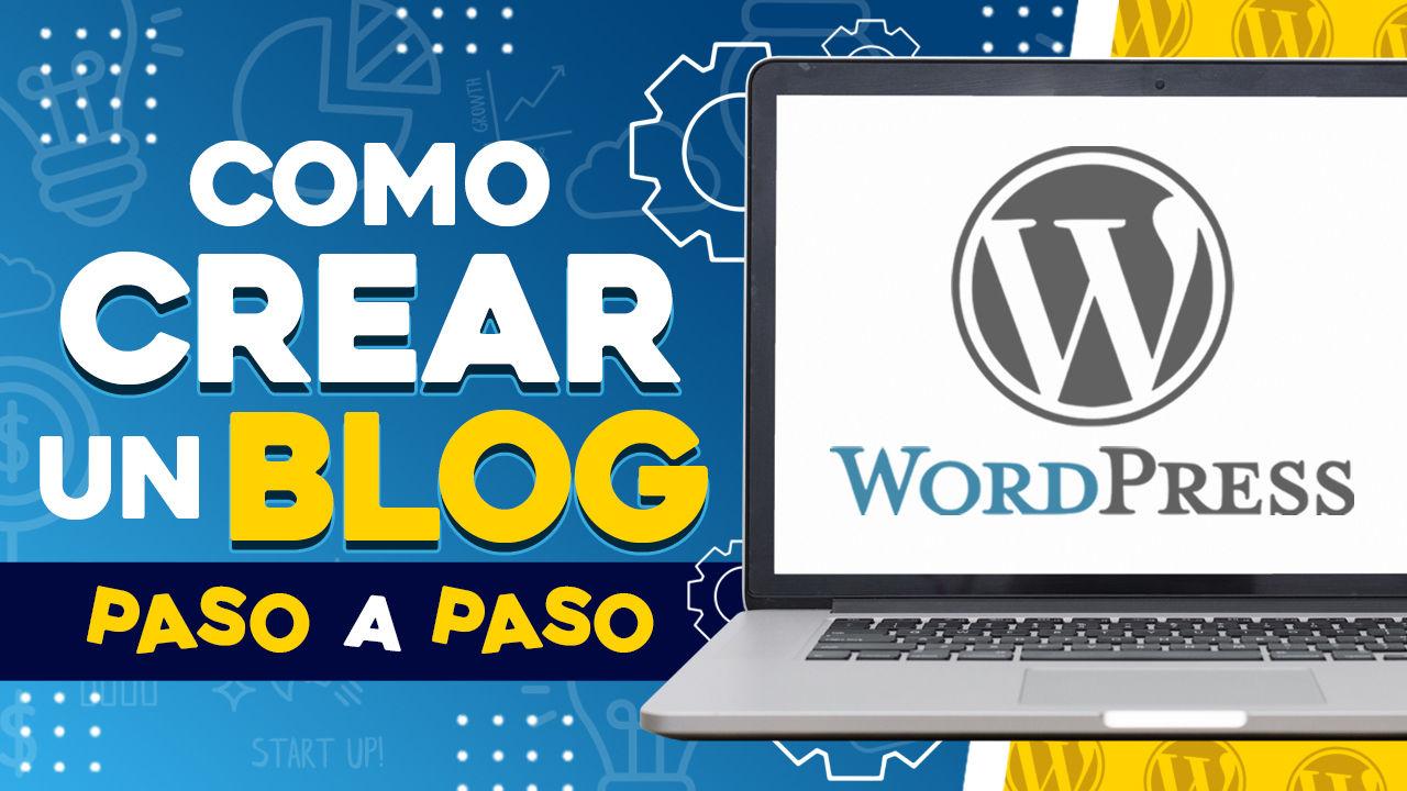como crear un blog en wordpress