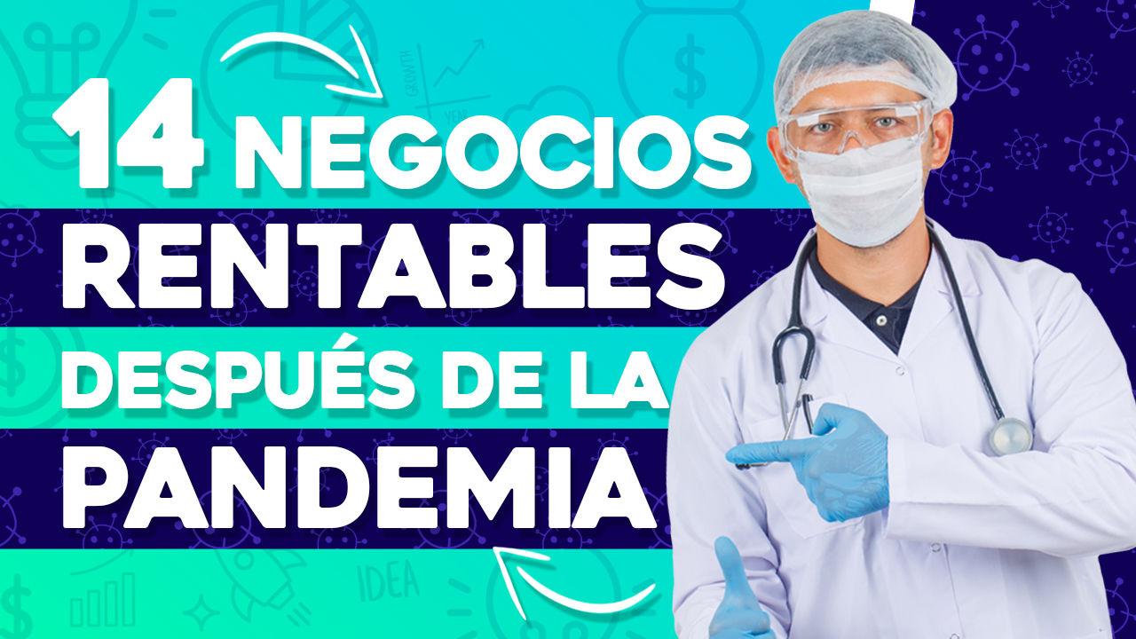 negocios rentables después de la pandemia