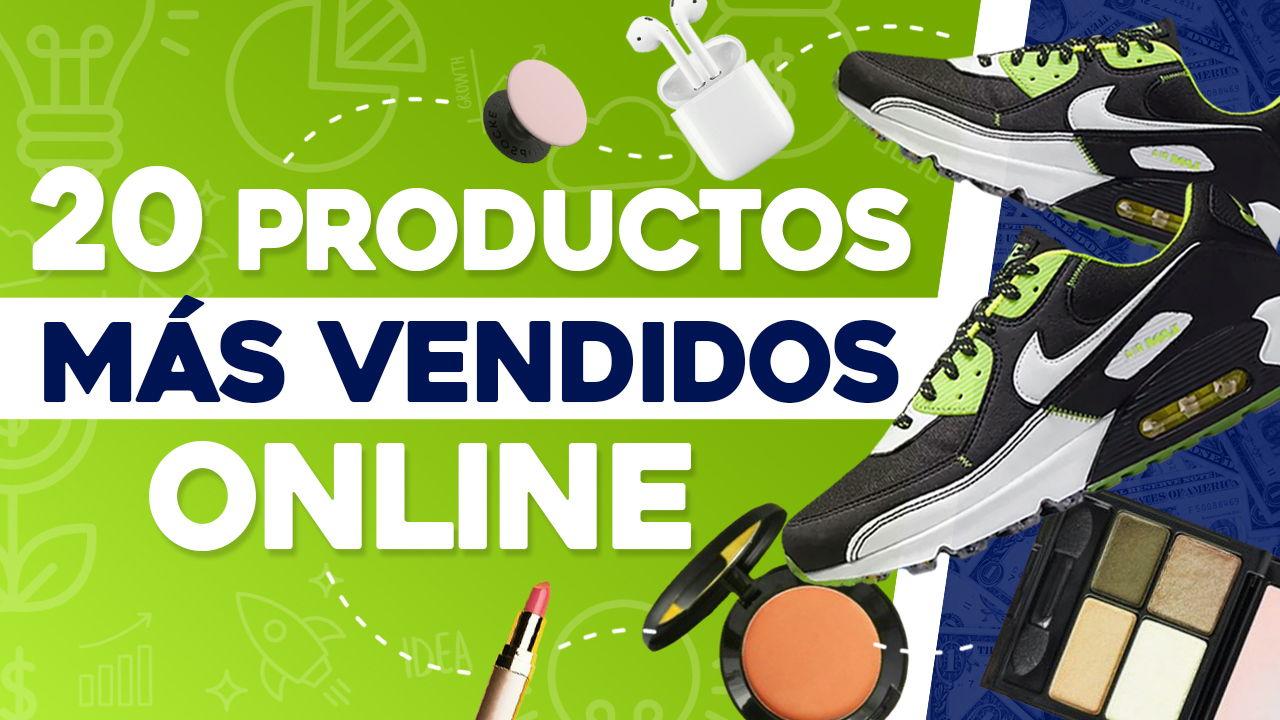 productos más vendidos por internet